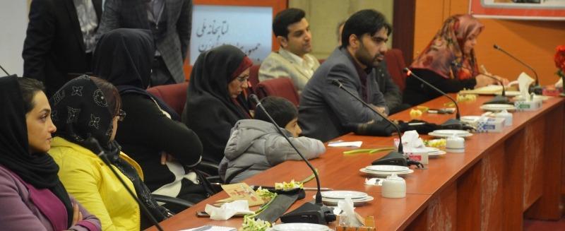 دکتر موسوی خطاط در جشن هفتسالی ویراستاران