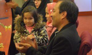 محمدسرور رجایی در جشن هفتسالگی ویراستاران