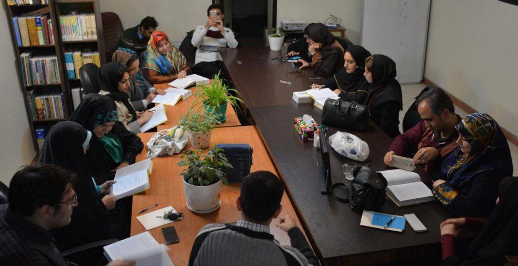 ویراستاران نشست متنخوانی نسرین تهرانی