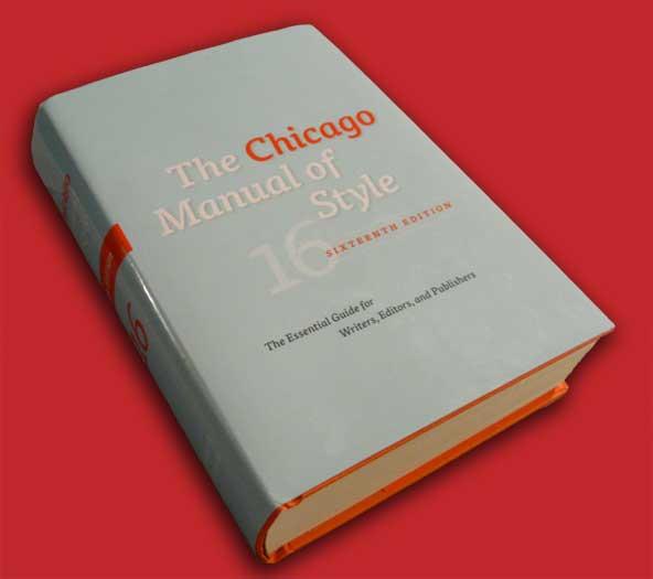 شیوهنامه شیکاگو-ویراستاران
